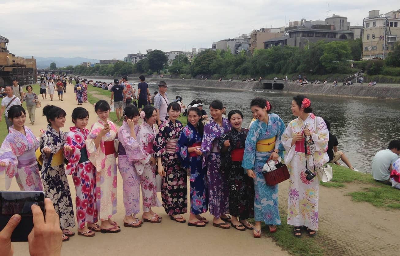 Kyoto - Kamo-floden 1