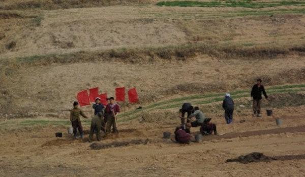 Laura Nordkorea markarbejdere