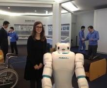 Lærke og robot