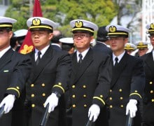 Maritime Officer Canidate School Graduation 2012