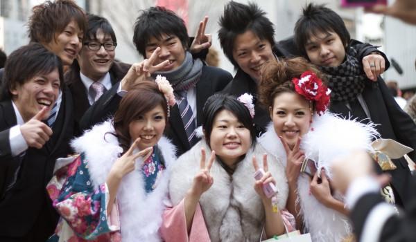 2010 成人の日(Seijin No Hi) Coming of Age Day: Post-Ceremony