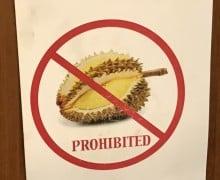 durian skilt