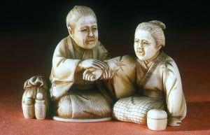 Ivory_netsuke,_Japan,_1871-1900_Wellcome_L0058726